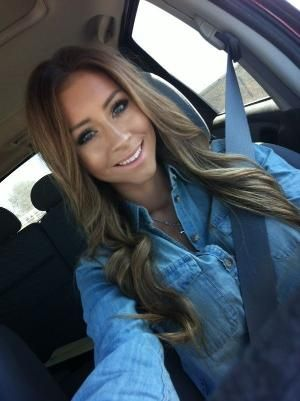 Light brown hair with blonde highlights by bertha