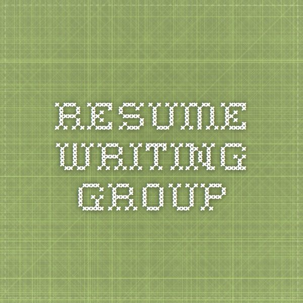 67 best Job Search images on Pinterest Education, Business ideas - resume writing group