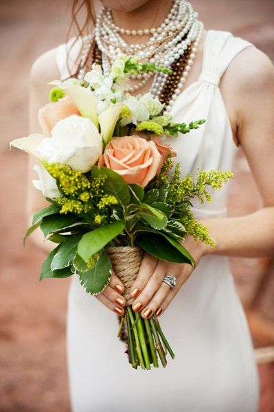 beach wedding - bridal gown inspiration / necklaces