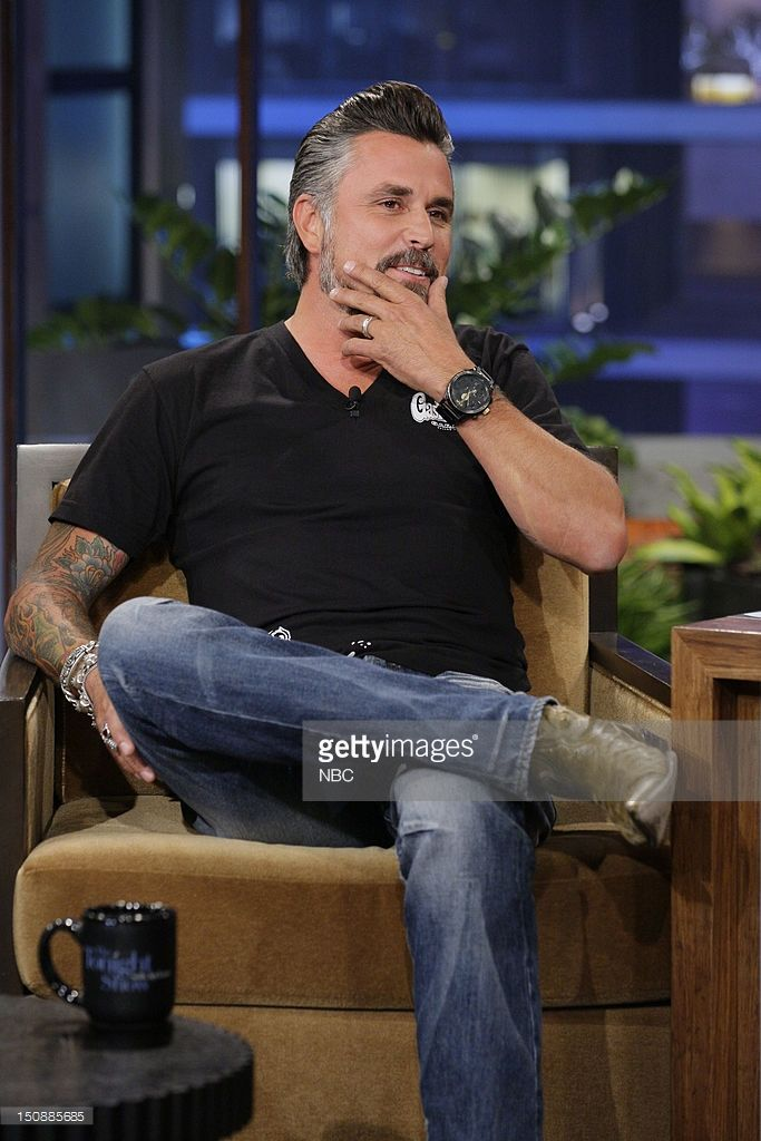 THE TONIGHT SHOW WITH JAY LENO -- Episode 4308 -- Pictured: Richard... News Photo | Getty Images
