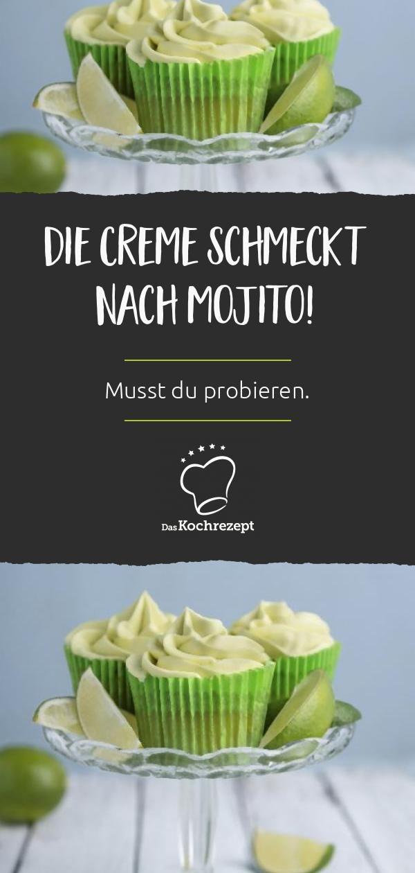 Mojito Cupcakes Daskochrezept De Kochrezepte Saisonales Themen Ideen Rezept Mojito Cupcakes Limetten Rezepte Rezepte