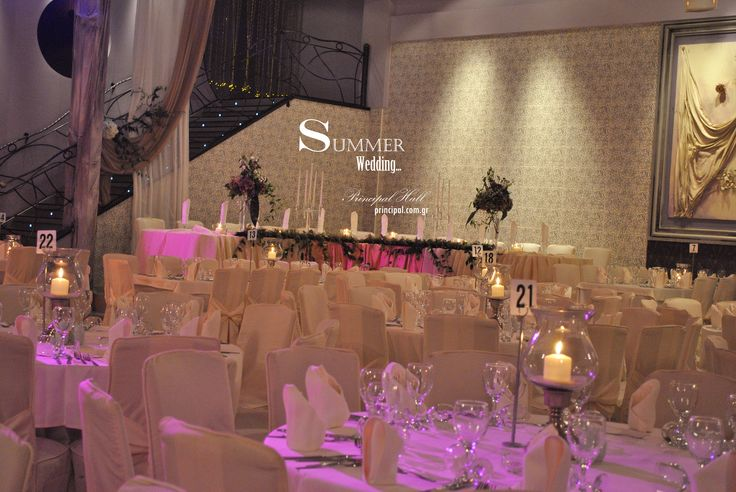 ~Ready to welcome guests in this Summer wedding atmosphere~