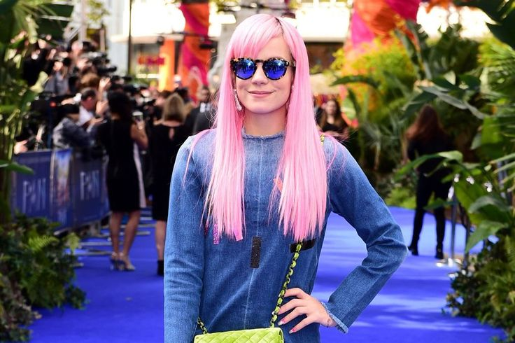 Lily Allen's stylish rise