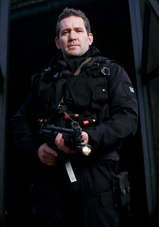 Warning: Sergeant Chris Ryan, former British Special Forces operative and soldier