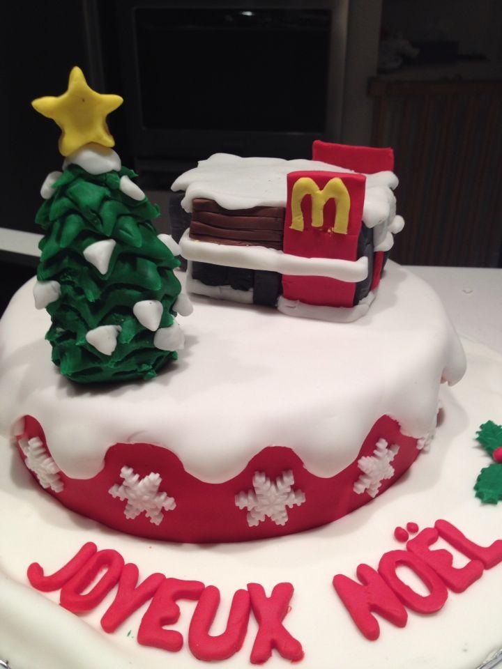 Gâteau mc donald