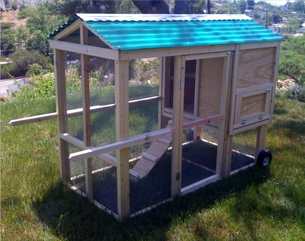 Nice portable coop chicken coops pinterest coops for Movable duck house