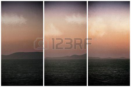 Triptych of Isalnd Dia