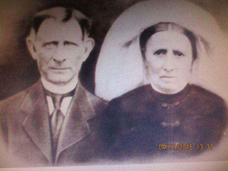 mijn grootvader en grootmoeder cornelis van denbroek &franciska van horik (kiske & ciska)