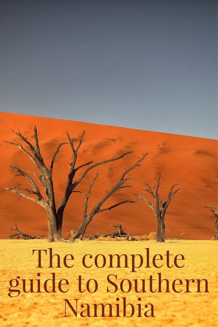 The complete guide and all you need to know about visiting Southern Namibia. From Fish River Canyon to Aus to Luderitz to Sossusvlei.