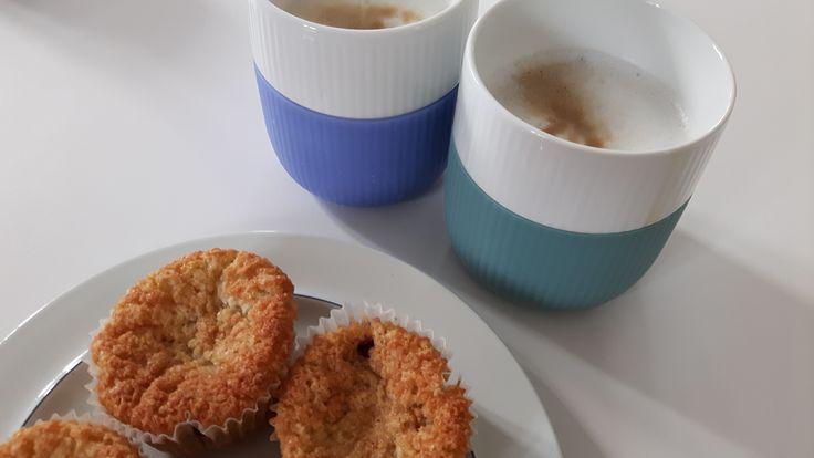 Muffins med bær og citron
