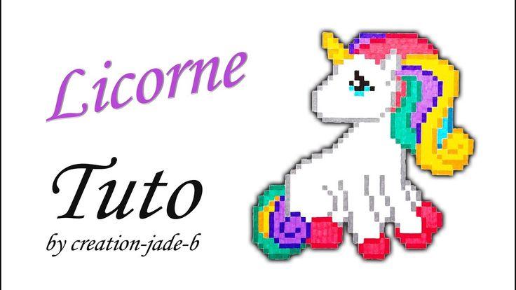 Tuto Pixel Art - Licorne (H:43 x L:42) ! 🐎