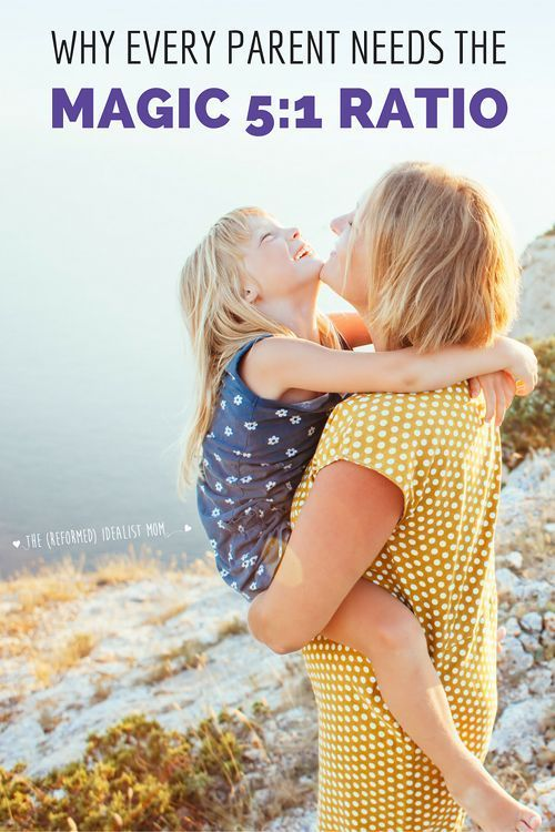 If you want a strong relationship with your child, you need to know about the Magic 5:1 Ratio! This is the most important parenting tip you'll ever hear because research shows it's absolutely vital to a happy, healthy relationship. And the best part? Your