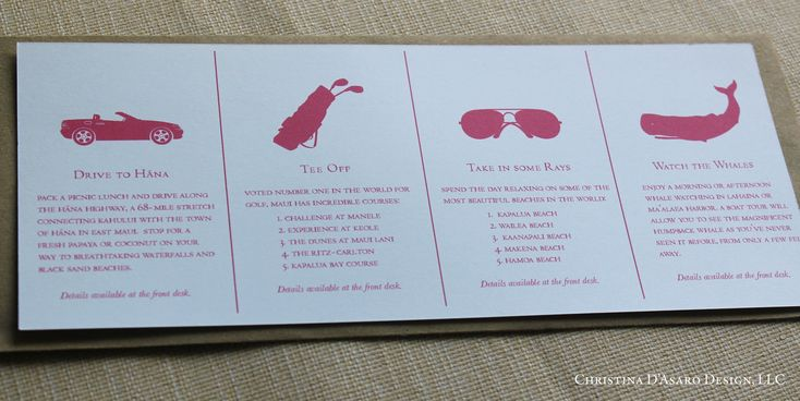 contemporary wedding map packet activities - Google Search