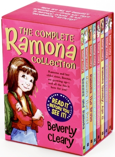 The Complete Ramona Collection  by Beverly Cleary, illustrated by Tracy Dockray    http://harpercollinschildrens.com/books/Complete-Ramona-Collection/?isbn13=9780061960901=100