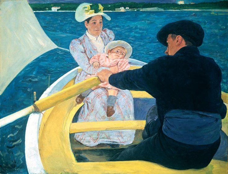 Мэри Кассат «Катание на лодке»
