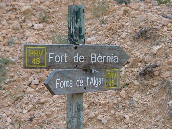 Fuentes del Algar - Sierra de Bèrnia