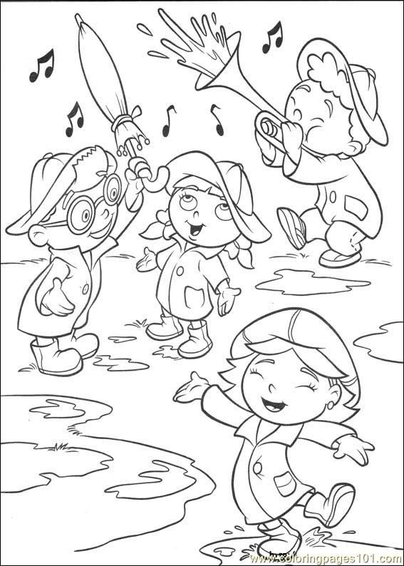 17 best Little Einsteins Coloring Pages images on Pinterest