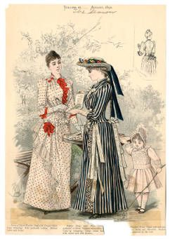 Frauen 1890-1896, Teller 019 :: Costume Institute Fashion Plates