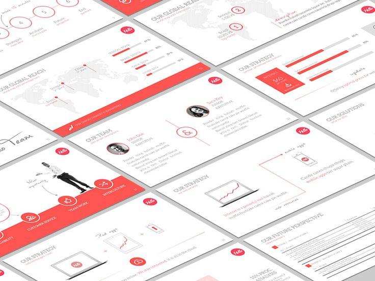 Hello Powerpoint - Multipurpose Presentation Template by Ergün