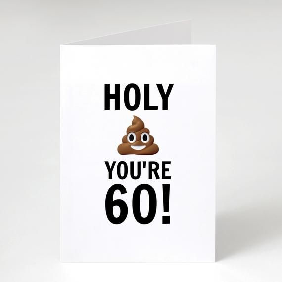 Pin By Judy Lehnert On 40 50 60th Birthday Cards 60th Birthday Cards Happy Birthday Card Funny Old Birthday Cards