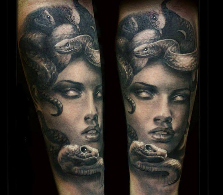 medusa tattoo by steffi eff