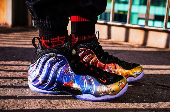 715111b18d0 On-Feet Look At The Nike Air Foamposite One Chinese New Year ...