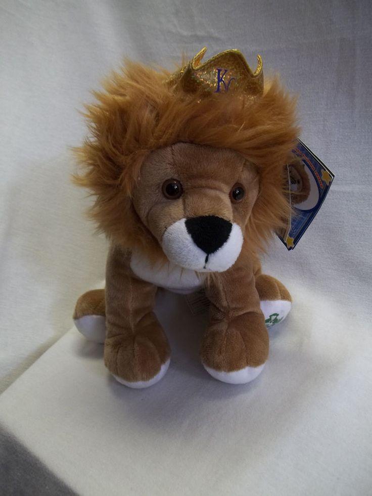build a bear lion kansas city royals stuffed animal original tags crown 11 sluggerrr take. Black Bedroom Furniture Sets. Home Design Ideas