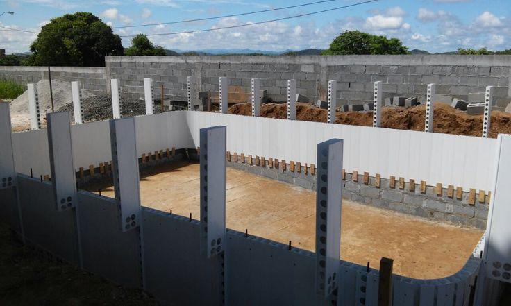 Sistema constructivo novedoso perfiles pvc+concreto garantiza su inversión