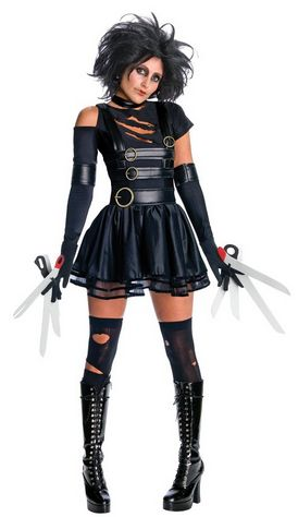 Women's #EdwardScissorHands #Halloweencostume -   http://adultsfancydresscostumes.com/frightfully-cheap-and-easy-adult-halloween-costume-ideas