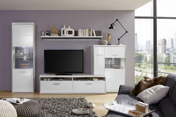 25 best ideas about wohnwand weiss on pinterest wei es. Black Bedroom Furniture Sets. Home Design Ideas