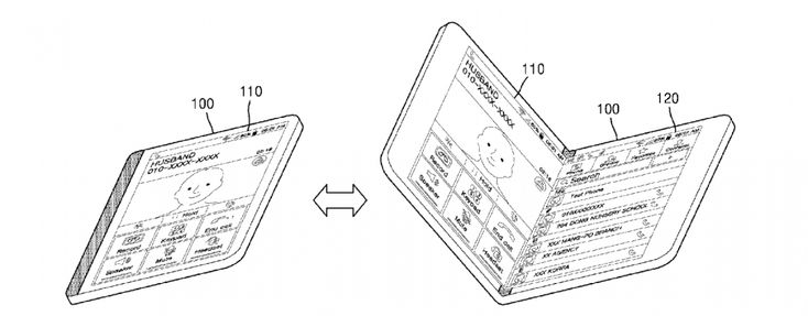 New Samsung patent details rollable, foldable phones and tablets
