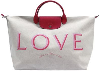 Love Magazine Remakes Classic \u0026#39;Pliage\u0026#39; Bag For Longchamp Fall 2010 - Fashion Lover - Fashion \u0026amp; Style Blog