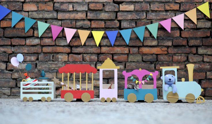 Półka dla dzieci pociąg ;Po-ciąg dalszy; | http://dekoeko.com/product/polka-dla-dzieci-pociag-po-ciag-dalszy/ | Kup na www.dekoeko.com