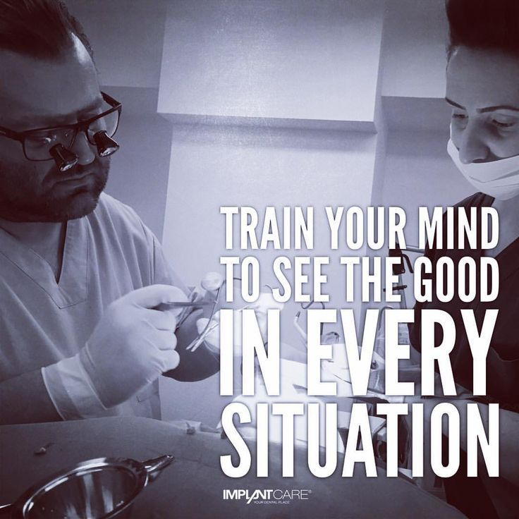 #implantcare #wien #yourdentalplace #quotes #lifequotes #trainyourmind #see #the #good #every #situation #dental #surgery #dentist #doctor #festenburg #franciska #dentalassistant #workhard...
