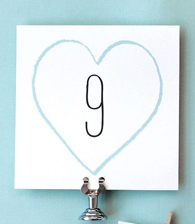 Number Names Worksheets free printable table number templates : 1000+ images about Free Wedding Printable's on Pinterest