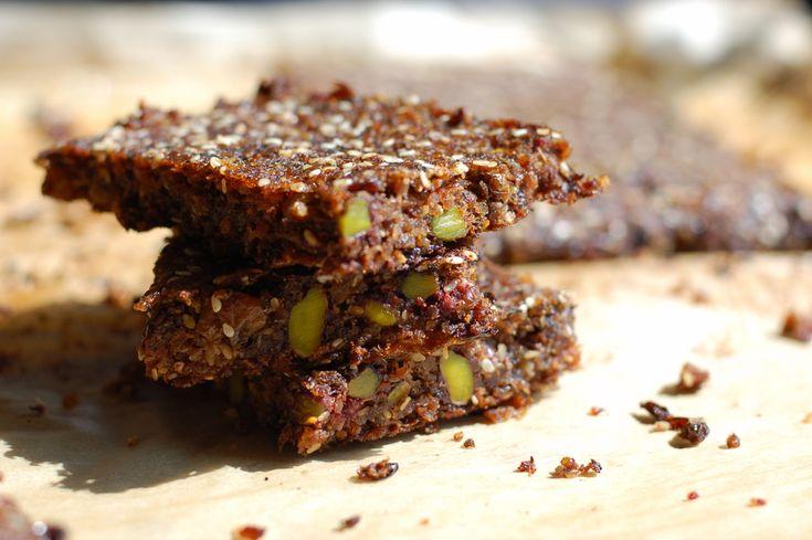 vegan quinoa gluten free moisture banana cake with pistachios