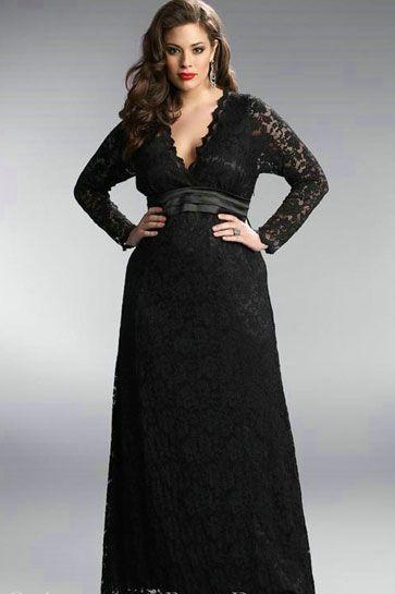 plus size dresses lace