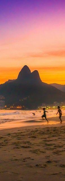#Viagem. Rio - sunset,Brazil