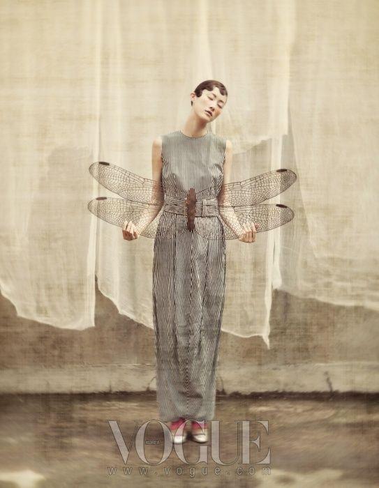a-harlots-progress: Images from 100-199 of Vogue Korea, Comme de Garcons