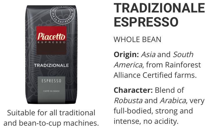 Piacetto Traditionale Espresso www.solino.gr
