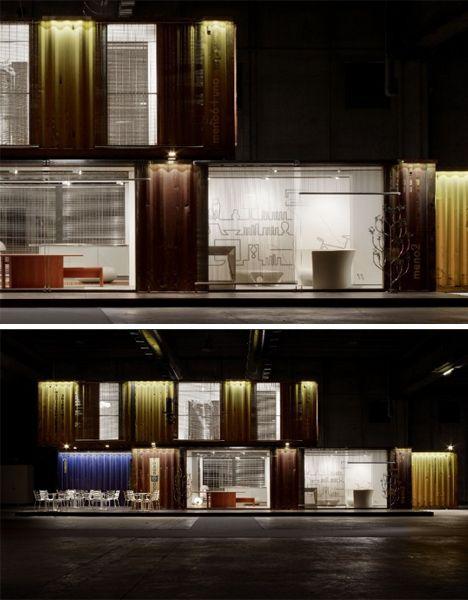 cargo home exterior http://dornob.com/eco-evolution-stylish-new-model-of-cargo-container-home/