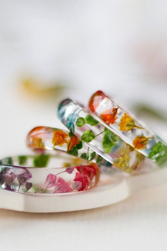 25+ best ideas about Flower rings on Pinterest