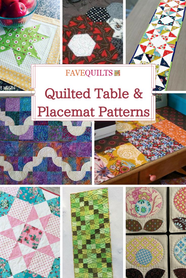 66 best Table Runner Quilt Patterns images on Pinterest | Quilting ...