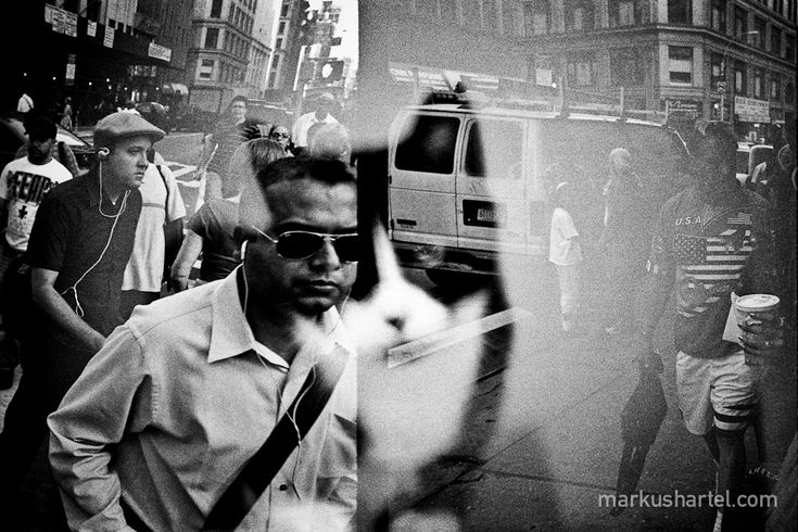 Black and white street photography new york markus hartel