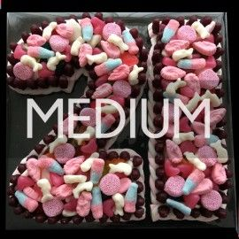 Number Sweet Cake - Medium