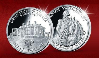 Oficiální americké dolary #americandollars #washington #silver #coin