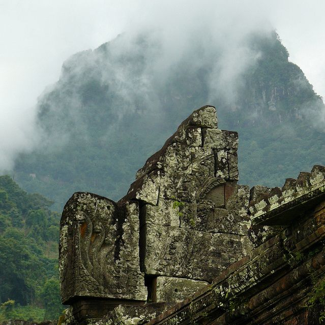 UNESCO World Heritage Site of Vat Phou, Laos