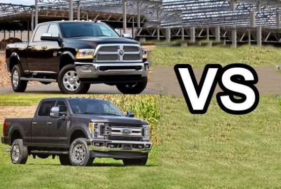 We'll choose the Ram 3500 everytime...  #RamTrucks #Trucks #Automotive #Revew #Comparison #Vehicles