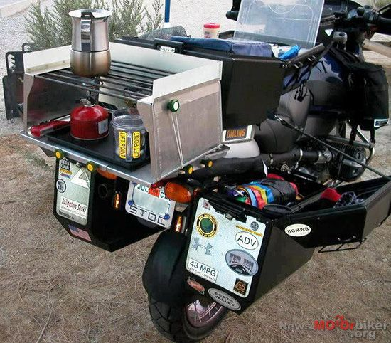 Now You Know Why Adventure Motorcycles Have Big Panniers from Bikes in the Fast Lane - Daily Motorcycle News