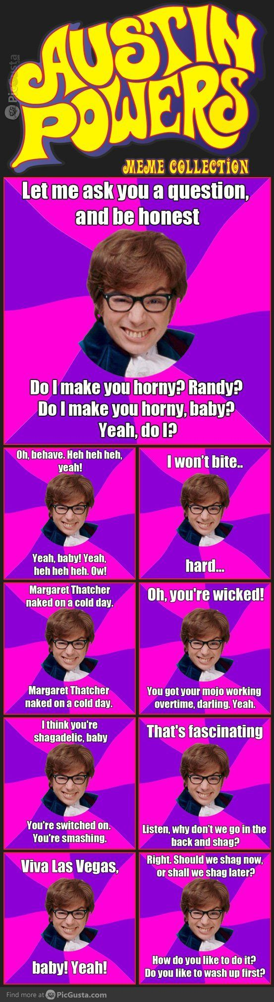 The Best of Austin Powers Meme's